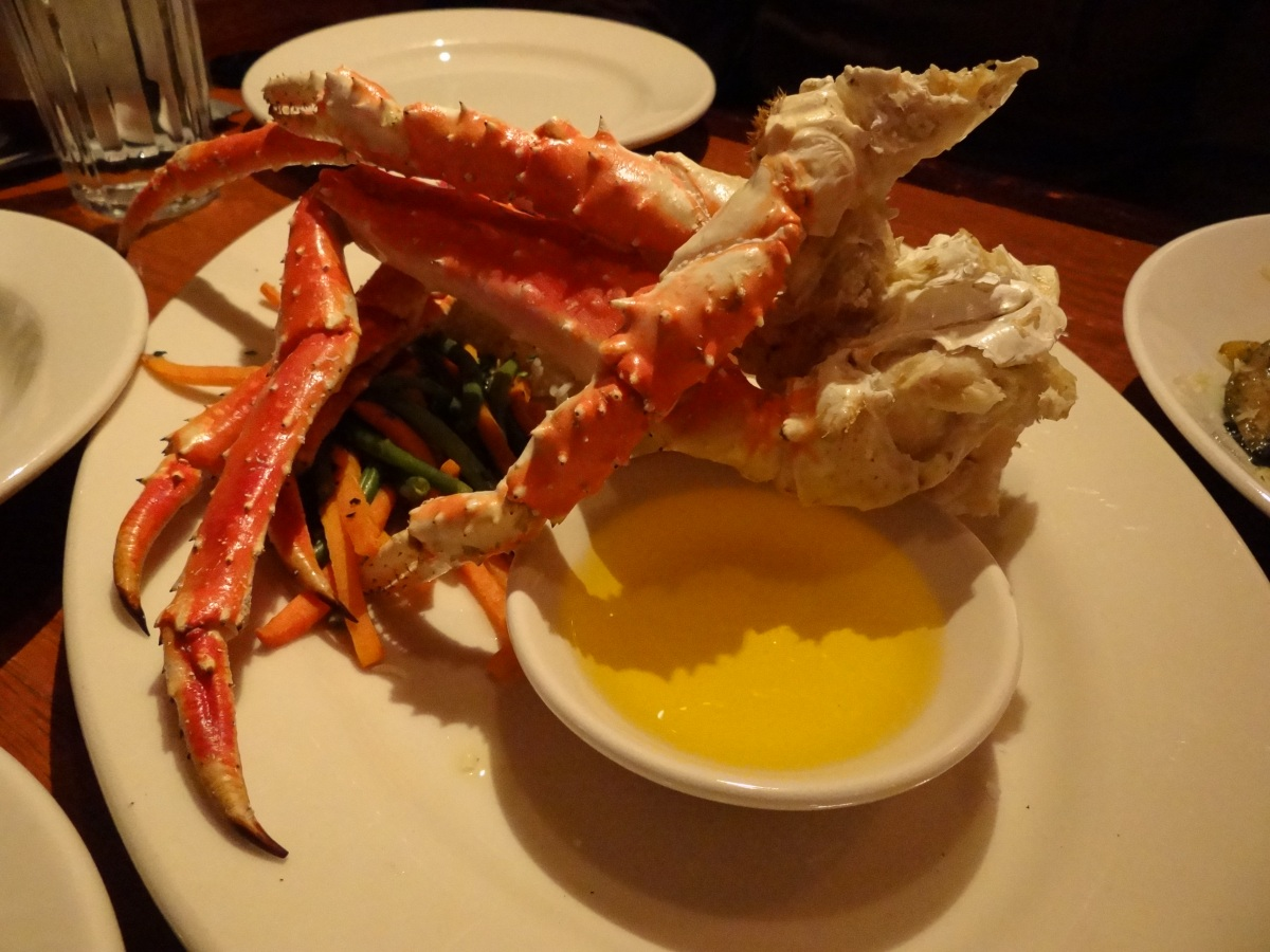 Alaska Day 4: Cooper River Highway 美景 與 King Crab 帝王蟹 (Cordova - Anchorage - Girdwood)