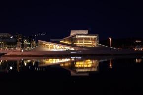 歌劇院夜景, Oslo
